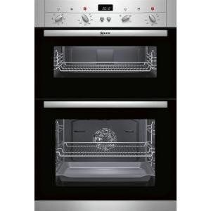 Neff U12S52N3GB Electric Built-in Double Oven Stainless Steel