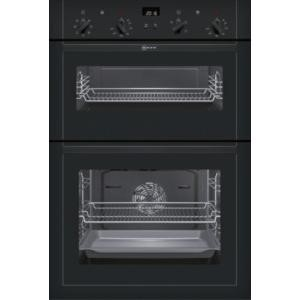 Neff U14M42S5GB built-in double oven Electric Built-in  in Black