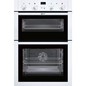 Neff U14M42W5GB built-in double oven Electric Built-in  in White