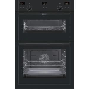 Neff U15E52S5GB built-in double oven Electric Built-in  in Black