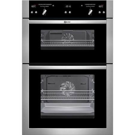 Neff U16E74N5GB Multifunction Electric Built-in Double Oven Stainless Steel