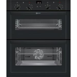 Neff U17M42S5GB Multifunction Built-under Double Oven Black