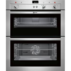 U17S32N3GB Neff U17S32N3GB Electric Built-under Double Oven - Stainless Steel