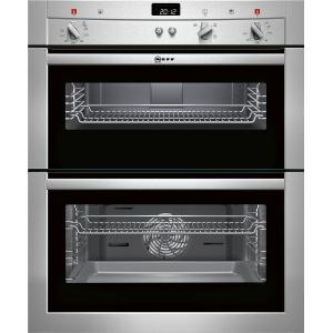 GRADE A1 - As new but box opened - Neff U17S32N3GB Electric Built-under Double Oven - Stainless Steel