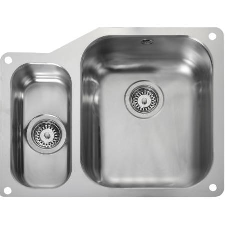 Rangemaster UB3515L Classic Undermount 350x420 156x342 1.5 Bowl LHD Stainless Steel Sink