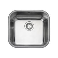 Rangemaster UB45 Classic Undermount 450x420 1.0 Bowl Reversible Stainless Steel Sink