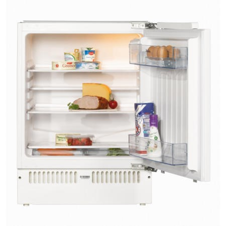 Amica UC150.3 60cm Wide Integrated Under Counter Fridge - White