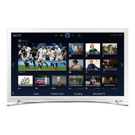 samsung ue22h5610 22 white 1080p full hd smart led tv with freeview hd ue22h5610akxxu. Black Bedroom Furniture Sets. Home Design Ideas