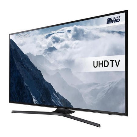 "Samsung UE40KU6000K 40"" 4K Ultra HD HDR Smart TV with Freeview HD & PurColour"