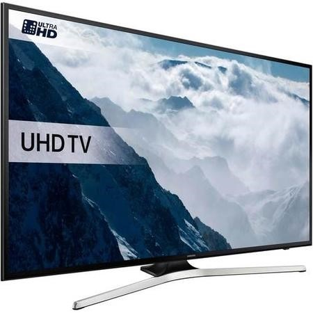 GRADE A1 - Samsung 40 Inch UE40KU6020 HDR 4K Ultra HD Smart TV with Freeview HD Playstation Now & PurColour