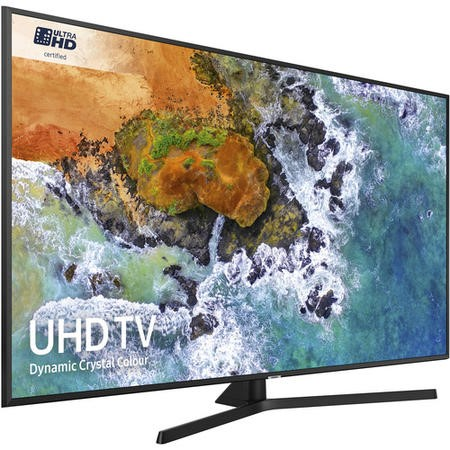 "Samsung UE65NU7400 65"" 4K Ultra HD HDR LED Smart TV with Freeview HD and Freesat"