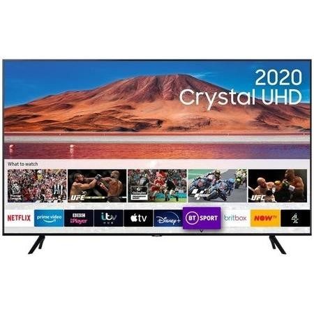 "Samsung UE65TU7100KXXU 65"" 4K Ultra HD HDR10+ Smart LED TV with TV Plus & Adaptive Sound"