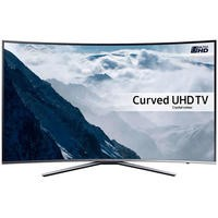 GRADE A1 - Samsung UE49KU6500 49 Inch Curved 4K Ultra HD HDR Smart TV with Freeview HD/Freesat HD Playstation Now & Active Crystal Colour - 1 Year Warranty