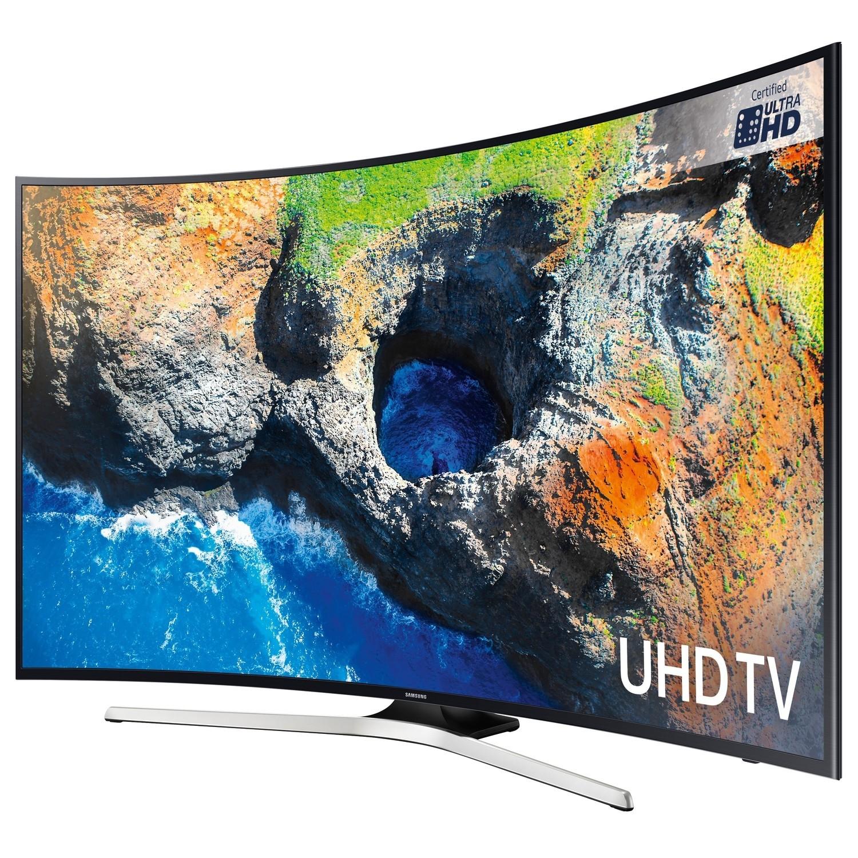 """Tv Led 4k Ultra Hd Smart Tv 43 Lg 43uk6470 What Is Hd Uhd 4k Hd Tv Ratings Hd Led 32 Inch Tv: Samsung UE65MU6220 65"""" 4K Ultra HD Curved LED Smart TV"""