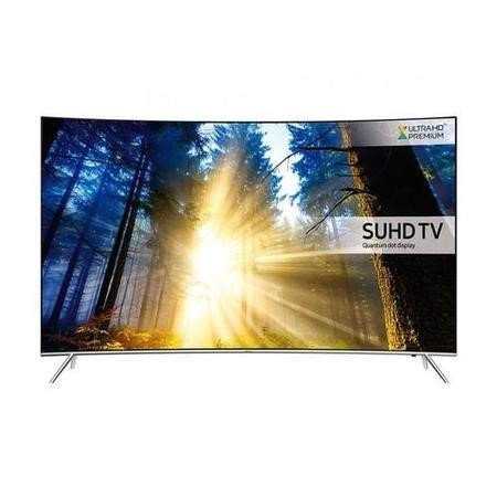 GRADE A1 - Samsung UE55KS7500 55 Inch Curved SUHD 4K Ultra HD HDR Quantum Dot Smart TV with Freeview HD/Freesat HD & Playstation Now