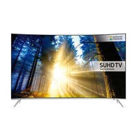 Samsung UE65KS7500 65 Inch Curved SUHD 4K Ultra HD HDR Quantum Dot Smart TV with Freeview HD/Freesat HD & Playstation Now