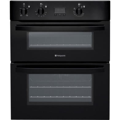 UH53KS Hotpoint UH53KS Electric Built Under Double Oven Black