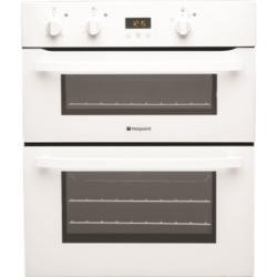 Hotpoint UH53WS Electric Built Under Double Oven - White