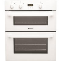 GRADE A2 - Hotpoint UH53WS Electric Built Under Double Oven - White