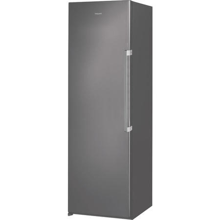 Hotpoint UH8F1CG 260 Litre Freestanding Upright Freezer 188cm Tall Frost Free 59.5cm Wide - Graphite