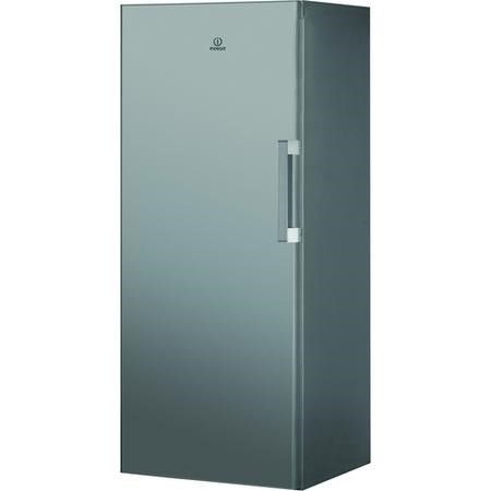 Indesit UI41S 60cm Wide 142cm High Upright Freestanding Freezer - Silver