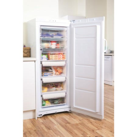 Indesit UIAA10 1.5m Tall Freestanding Freezer in White