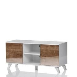 UK-CF Seville White Oak TV Stand for screens up to 52""