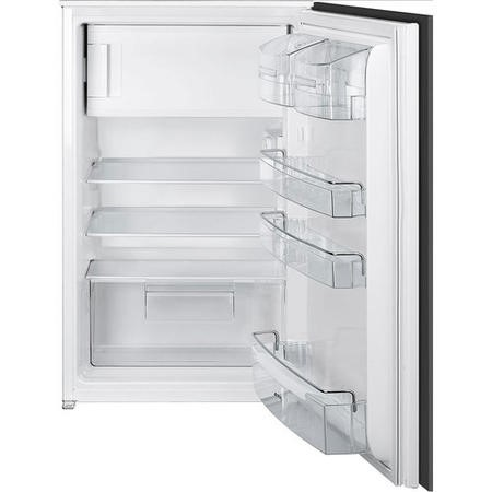Smeg UKS3C090P 54cm Wide Integrated In-Column Fridge - White