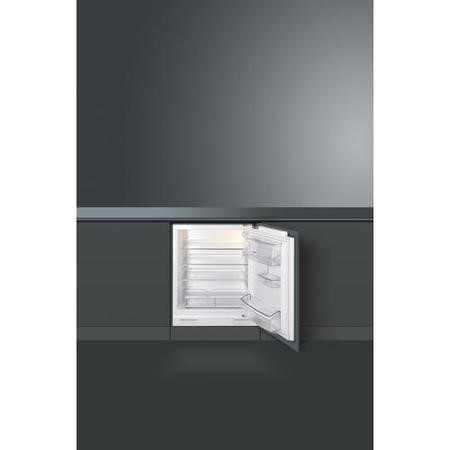 Smeg UKUD7140LSP 60cm Wide Integrated Under Counter Fridge - White