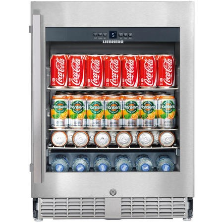 Liebherr UKes1752 Built-under Beverage Centre - Stainless Steel