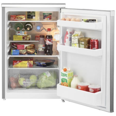 Beko UL584APS 54.4cm Wide Freestanding Under Counter Fridge - Silver