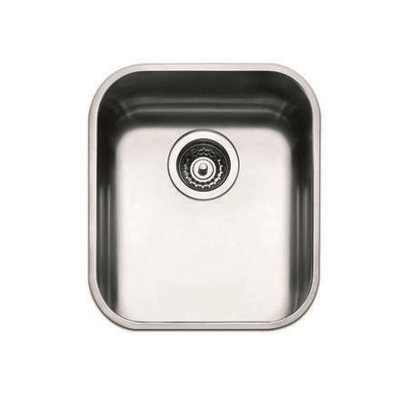 Smeg UM40 40cm Undermount Single Bowl Stainless Steel Sink