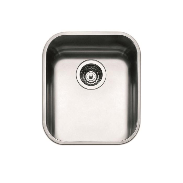 Smeg UM40 40cm Undermount Single Bowl Stainless Steel Sink ...
