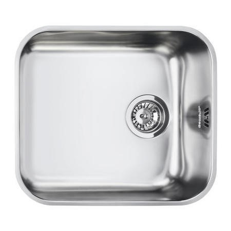 Smeg UM45 Alba Undermount Single Bowl Stainless Steel Sink