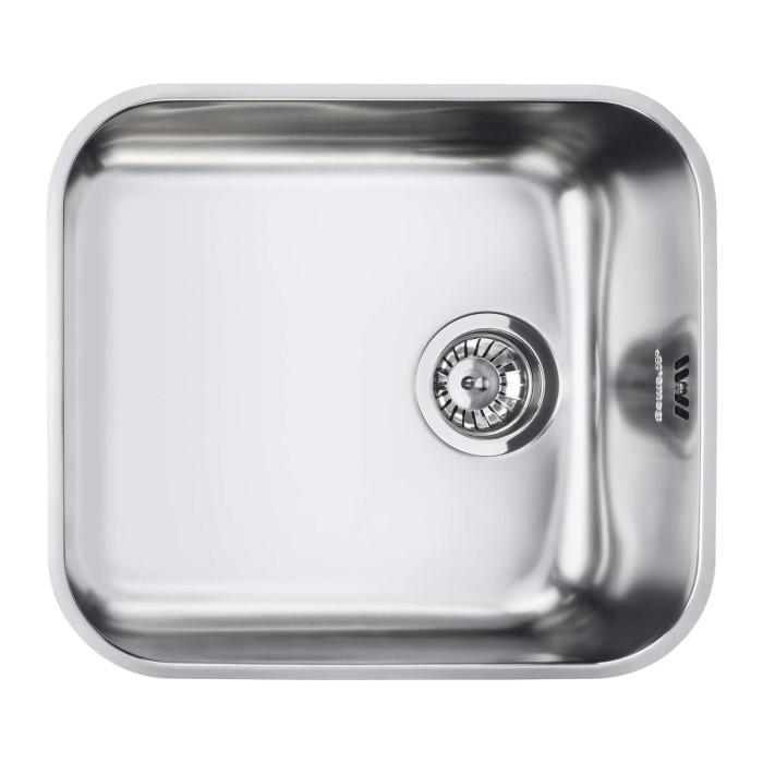 Smeg UM45 Alba Undermount Single Bowl Stainless Steel Sink ...