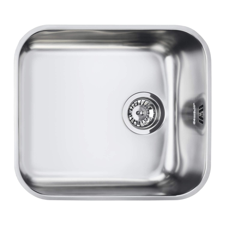 Smeg UM45 Alba Undermount Single Bowl Stainless Steel Sink