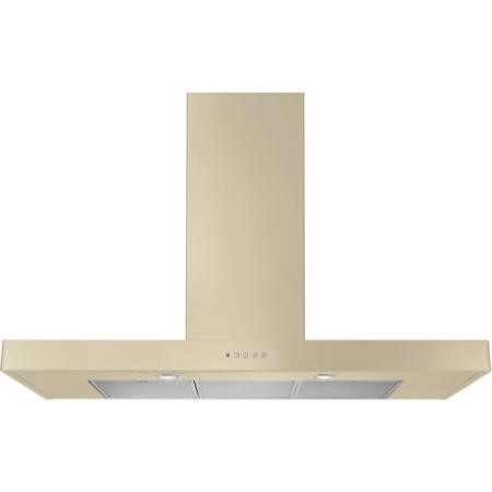 Rangemaster 105200 110cm Flat Chimney Cooker Hood Cream