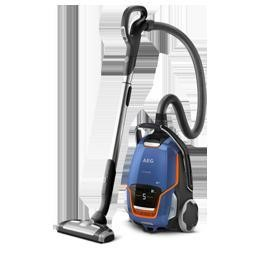 AEG UODELUXE+ Vacuum Cleaner in Steel Blue Metallic