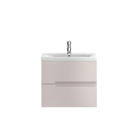 Hudson Reed Cashmere Wall Hung Bathroom Cabinet & Basin - W615 x H540mm