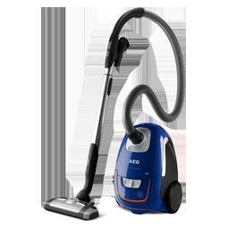 AEG USORIGDB+ Vacuum Cleaner in Deep blue