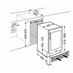 Liebherr UWKES1752 Smartsteel Built Under Single