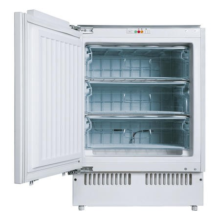 Amica UZ1303 100L Integrated Under Counter Freezer - White Finish