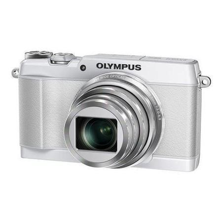 Olympus SH-1 Camera White 16MP 24xZoom 3.0Touch LCD FHD 25mm Wide