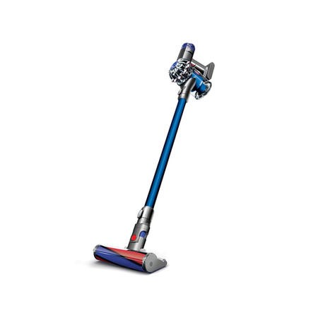 Dyson V6FLUFFY Total Clean Cordless Vacuum Cleaner Nickel And Red