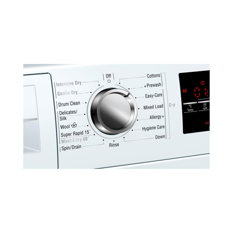 Neff V7446X2GB 7kg Wash 4kg Dry Freestanding Washer Dryer - White