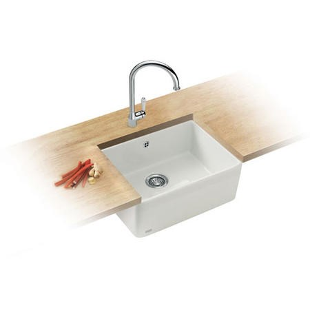 Franke Vbk710dp Belfast Style Single Bowl Ceramic Sink And Tap Designer Pack Appliances Direct
