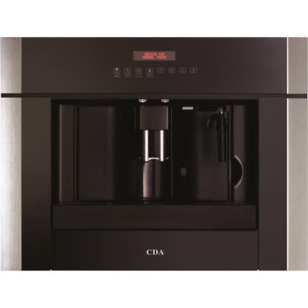 CDA VC800SS Fully Automatic Electronic Built-in Coffee Machine - Stainless Steel