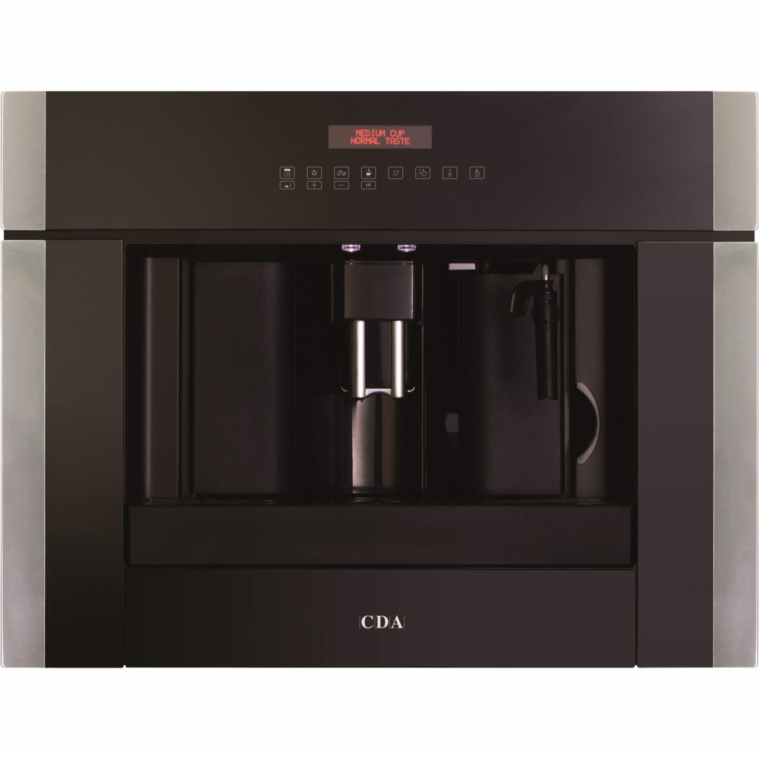 cda vc801ss fully automatic builtin coffee maker stainless steel
