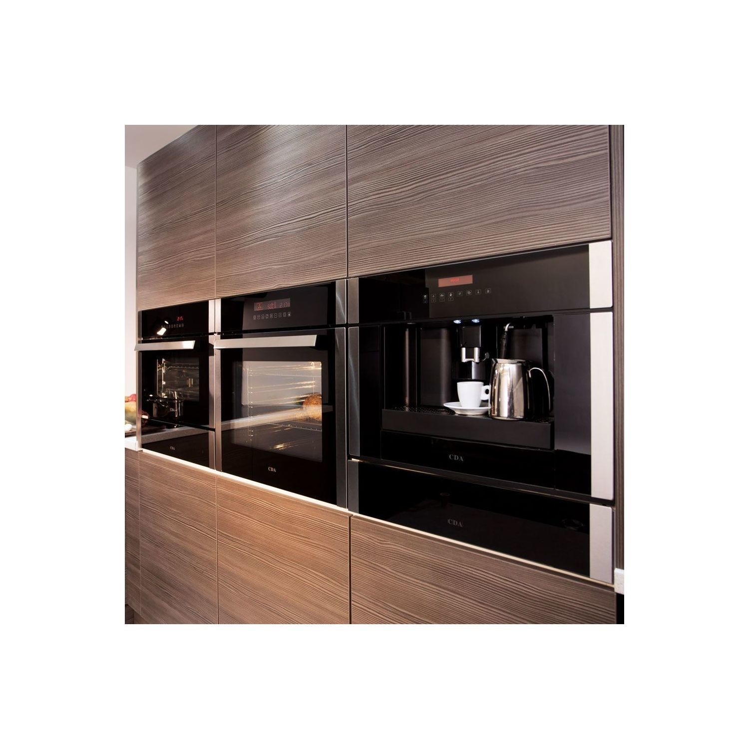 Cda Vc801ss Fully Automatic Built In Bean To Cup Coffee Machine Stainless Steel