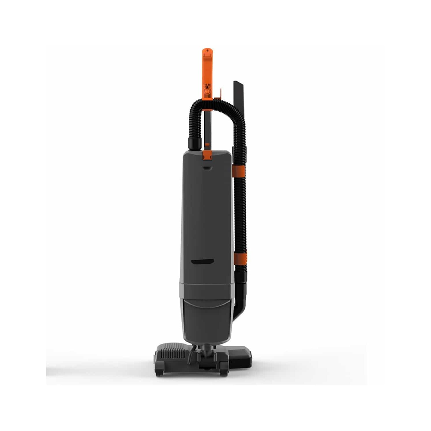 Vax VCU03C Commercial Upright Twin Motor Vacuum Cleaner - Grey And Orange